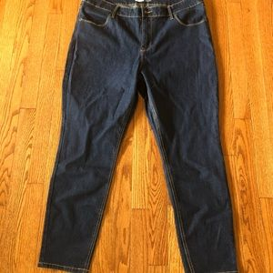 Old Navy Dark Super Skinny Jeans